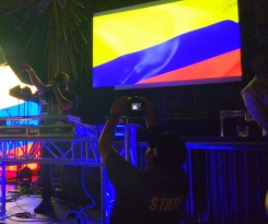 Alex Sensation Celebra las Fiestas de Independencia Colombiana 2019 _11
