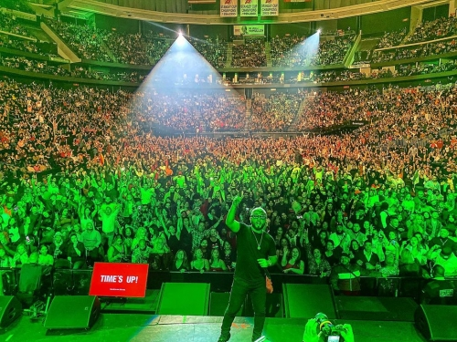 MEGABASH: Alex Sensation en el Prudential Center