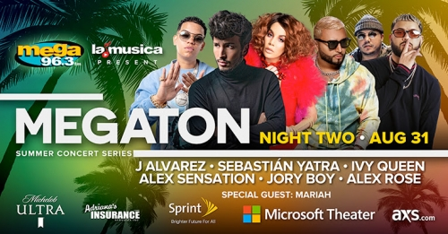 "Alex Sensation on ""MEGATON SUMMER CONCERT SERIES"""
